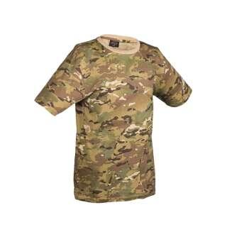 Камуфлированная футболка (Multicam), Mil-tec