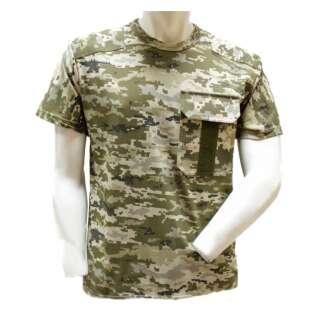 Камуфльований футболка з погоном (UA-Digital), Україна