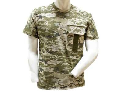 Камуфлированная футболка с погоном (UA-Digital), Украина