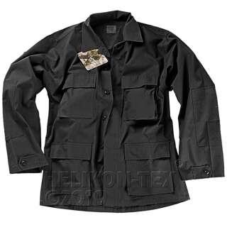 Китель BDU - Cotton Ripstop, Black, Helikon-Tex