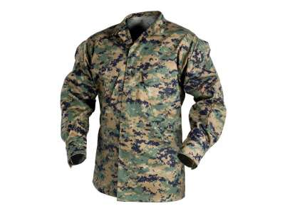 Кітель USMC - PolyCotton Twill, USMC Digital Woodland, Helikon-Tex®