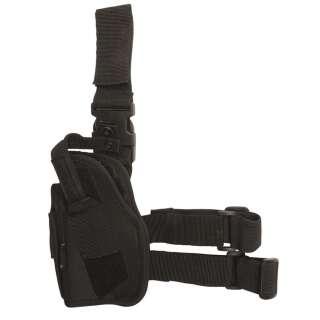 Кобура на ногу левая (Black), Mil-Tec Sturm