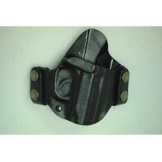 Кобура пластиковая быстросъемная поясная (ПМ, ФОРТ12, ФОРТ17) (Black), A-line®