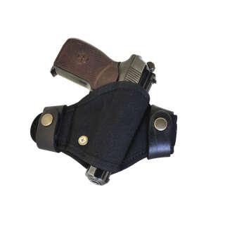 Кобура поясная синтетическая формованная быстросъемная (Black), A-line®