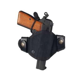 Кобура поясная синтетическая формованная быстросъемная на скобе (Black), A-line®