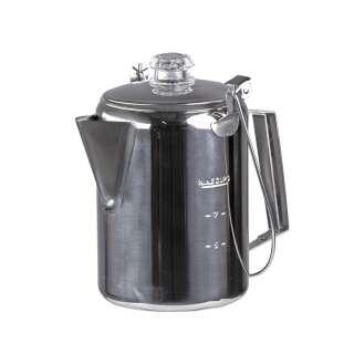Кофейник-перколятор из нержавеющей стали (9 порций), Sturm Mil-Tec