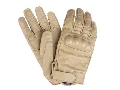 Кожаные тактические перчатки (Coyote), Mil-tec