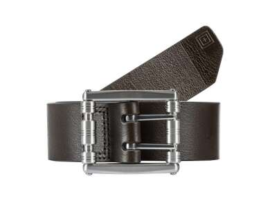 Шкіряний ремінь 5.11 Stay Sharp Leather Belt [112] Dark Brown, 44140