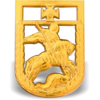 Кокарда на берет Державна прикордонна служба України (пластмасова), Украина