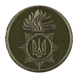 Кокарда Національна гвардія України на флізелін (тип 2)