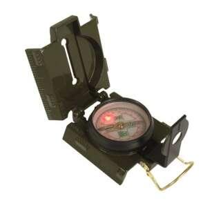 Компас армійський металевий US (світлодіодне підсвічування), [182] Olive, Mil-tec