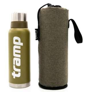 copy_Комплект Термос Tramp Classic 2019 0,75 л оливковый + защитный утепленный чехол