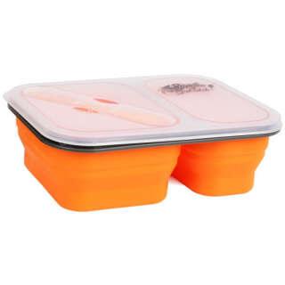 Контейнер2отсекасиликоновыйTramp TRC-090-orange, TRAMP