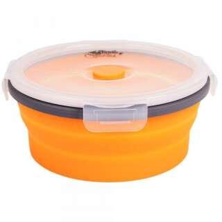 Контейнерскладнойскрышкой-защелкойTramp TRC-088-orange, TRAMP