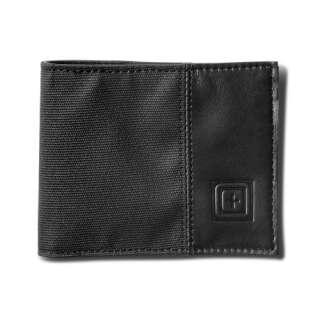 Гаманець 5.11 Phantom Leather Bifold Wallet [019] Black, 5.11 ®