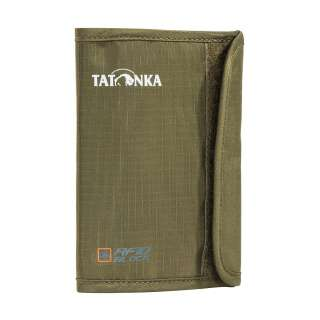 Кошелек Tatonka Passport Safe RFID B, Olive (TAT 2996.331)