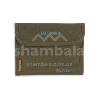 Гаманець Tatonka Euro Wallet RFID B, Olive (TAT 2991.331)