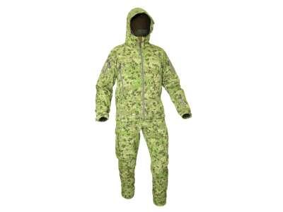 Костюм демисезонный полевой влагозащитный FSS (Field Storm Suit), [1234] Камуфляж Жаба Полевая, P1G-Tac