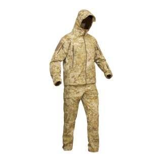 Костюм демісезонний польовий вологозахисний FSS (Field Storm Suit), [одна тисяча двісті тридцять п'ять] Камуфляж Жаба Степова, P1G-Tac -Tac -Tac