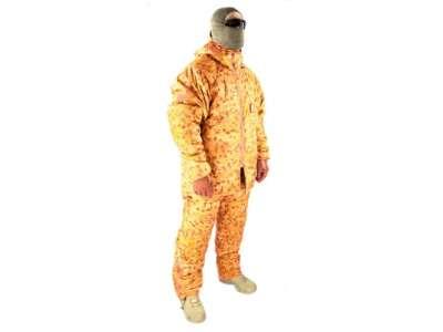 Костюм для экстремально холодной погоды Sleeka Walrus ECWS (Extreme Cold Weather Suit), [1235] Камуфляж Жаба Степная, P1G®