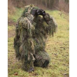 Костюм маскировочный GHILLIE CAMO SYSTEMS (нитки), [1358] Woodland, Sturm Mil-Tec® Reenactment