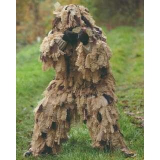 Костюм маскировочный гили OAK LEAF 3D, [0410] Desert, Sturm Mil-Tec® Reenactment
