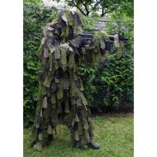 Костюм маскировочный гили OAK LEAF 3D, [1358] Woodland, Sturm Mil-Tec® Reenactment