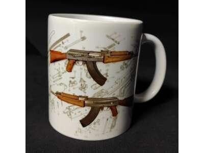 Кружка керамическая АК-47, P1G Armor®