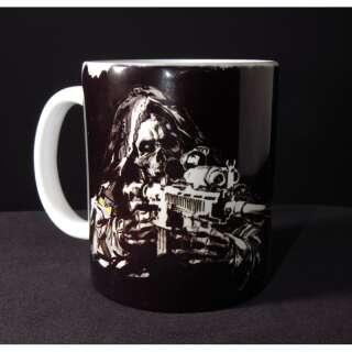 Кружка керамическая Special Force Sniper, [1314] Snow White, P1G