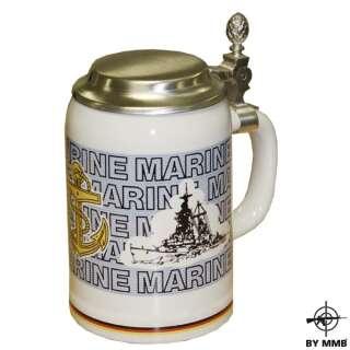 Кружка с крышкой Marine