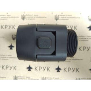 Крук складаний механізм прикладів з різьбленням AR-типу Armor Black