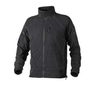 Куртка ALPHA - Grid Fleece, Black, Helikon-Tex