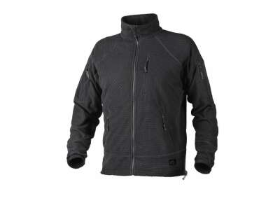 Куртка ALPHA Tactical - Grid Fleece, Black, Helikon-Tex