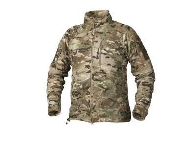 Куртка ALPHA Tactical - Grid Fleece, Camogrom, Helikon-Tex