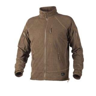 Куртка ALPHA - Grid Fleece, Coyote, Helikon-Tex