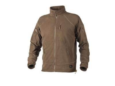 Куртка ALPHA - Grid Fleece, Coyote, Helikon-Tex®