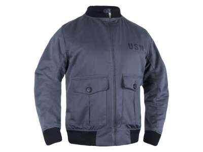 Куртка-бомбер USN-37J1 Pilot Jacket, Graphite, P1G®