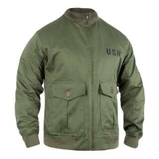 Куртка-бомбер USN-37J1 Pilot Jacket, Olive Drab, P1G®