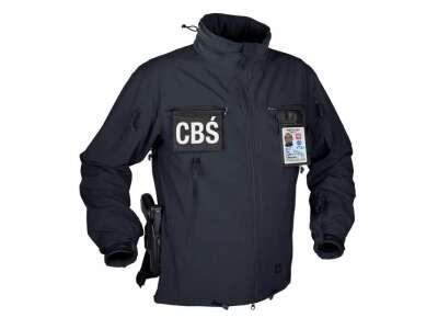 Куртка COUGAR QSA + HID - Soft Shell Windblocker Navy Blue Helikon-Tex