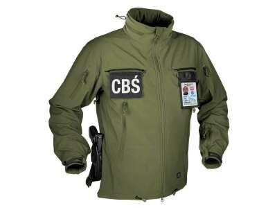 Куртка COUGAR QSA + HID - Soft Shell Windblocker Olive Green Helikon-Tex