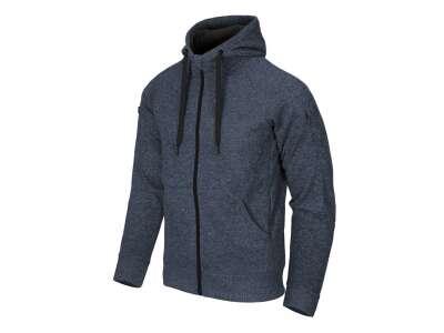Куртка COVERT TACTICAL HOODIE (FullZip), Melange Blue, Helikon-Tex®
