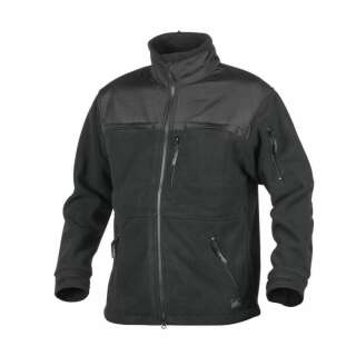 Куртка DEFENDER QSA + HID - Duty Fleece, Black, Helikon-Tex