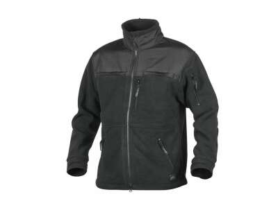Куртка DEFENDER QSA + HID - Duty Fleece, Black, Helikon-Tex