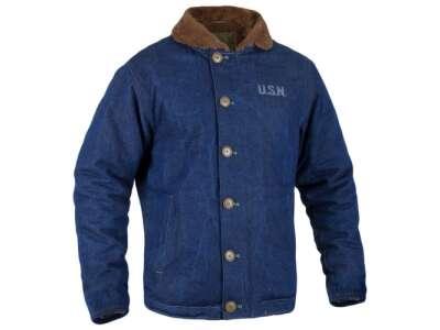 Куртка демисезонная N-1 NAVY DECK JACKET [1236] Jeans, P1G®