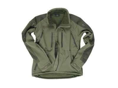 Куртка демисезонная Softshell Plus, [182] Olive, Sturm Mil-Tec® Reenactment