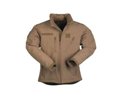 Куртка демисезонная софтшелл SOFTSHELL JACKET SCU, [120] Coyote, Sturm Mil-Tec® Reenactment