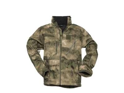 Куртка демисезонная софтшелл SOFTSHELL JACKET SCU, [1247] MIL-TACS FG, Sturm Mil-Tec® Reenactment