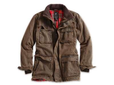 Куртка демисезонная SURPLUS XYLONTUM JACKET, [108] Brown, Surplus Raw Vintage®