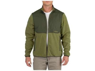 Куртка флисовая 5.11 Apollo Tech Fleece Jacket, [200] Fatigue, 5.11 Tactical®