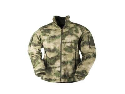 Куртка флисовая тактическая утепленная DELTA-JACKET FLEECE, [1247] MIL-TACS FG, Sturm Mil-Tec